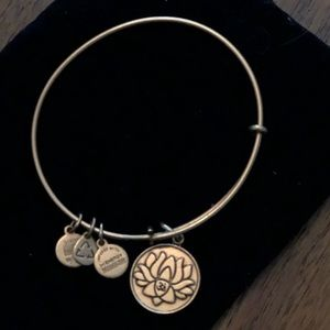 Alex and Ani Lotus Flower Bracelet